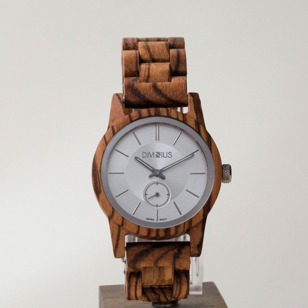 Silver Zebrawood | Zebrawood Included