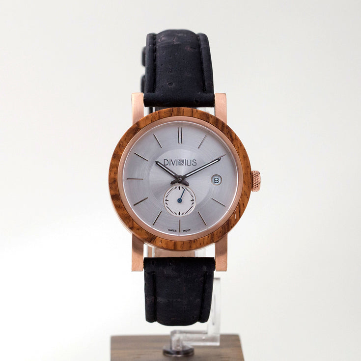 Rose Gold Teak | Night Black