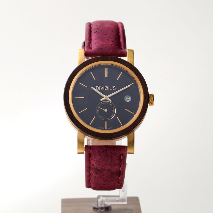 Golden Leadwood | Wine Red