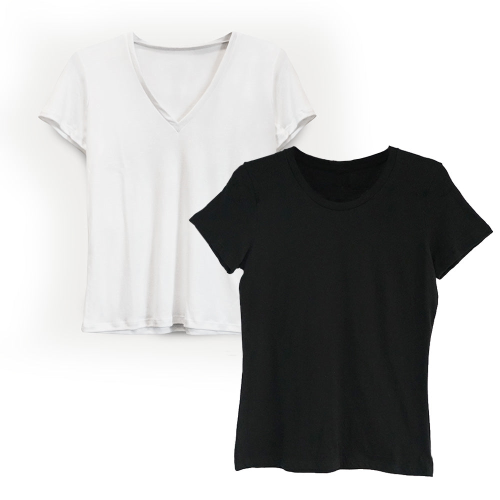 Basic Tees Bundle: $80-120 (Save from $15 to $21)
