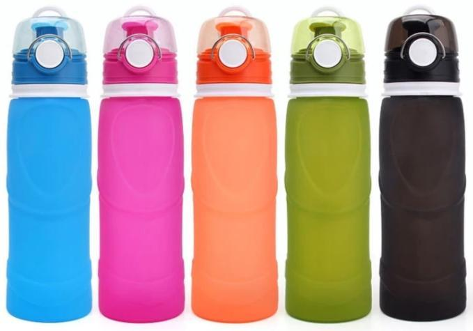 different coloured squishy bottles