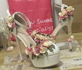 Bridal Pointed Toe Sandal