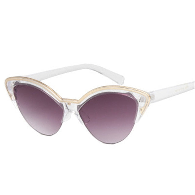 Cat Eye Trendy Butterfly Sunglasses
