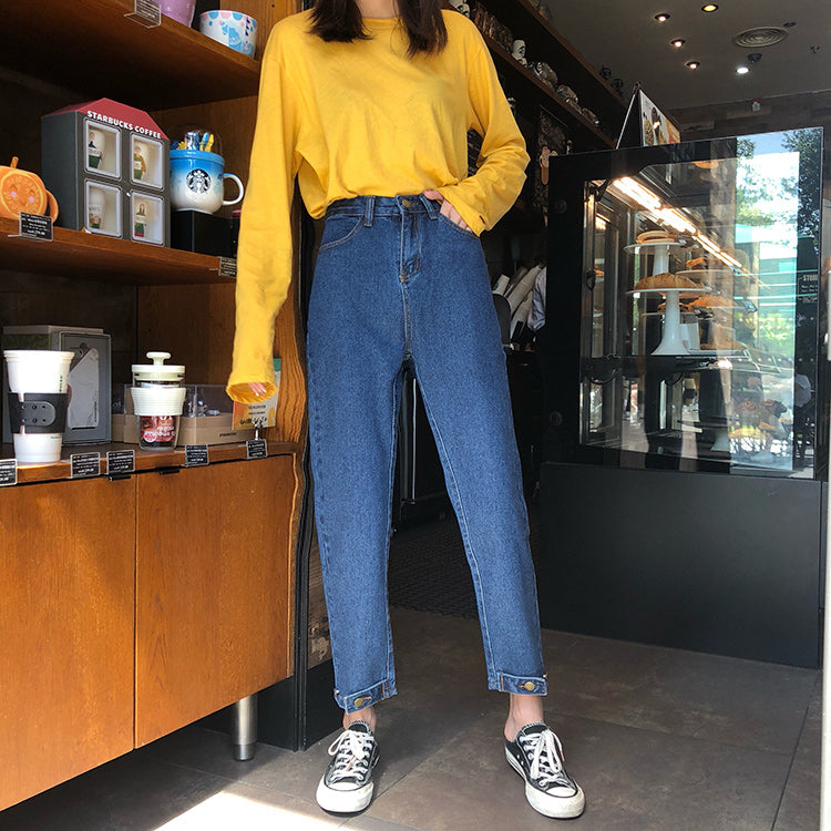 Ankle-length Jeans Women