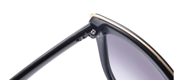 Cat Eye Gradient Retro Sunglasses
