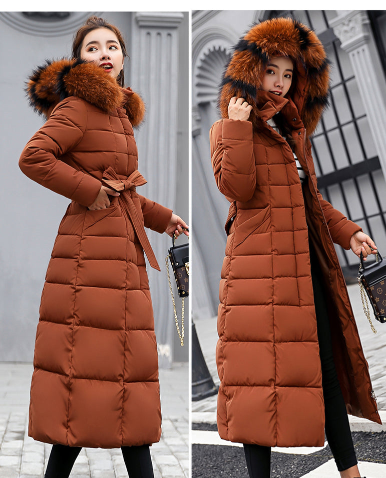 Slim Women Winter Jacket Cotton Padded