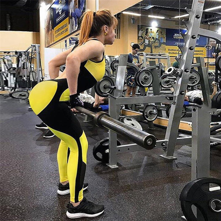 Yoga Suit Overalls Fitness Tracksuits