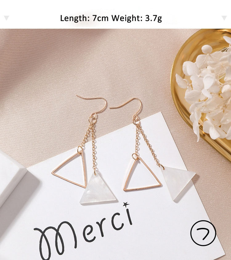 Earrings Simple Branch