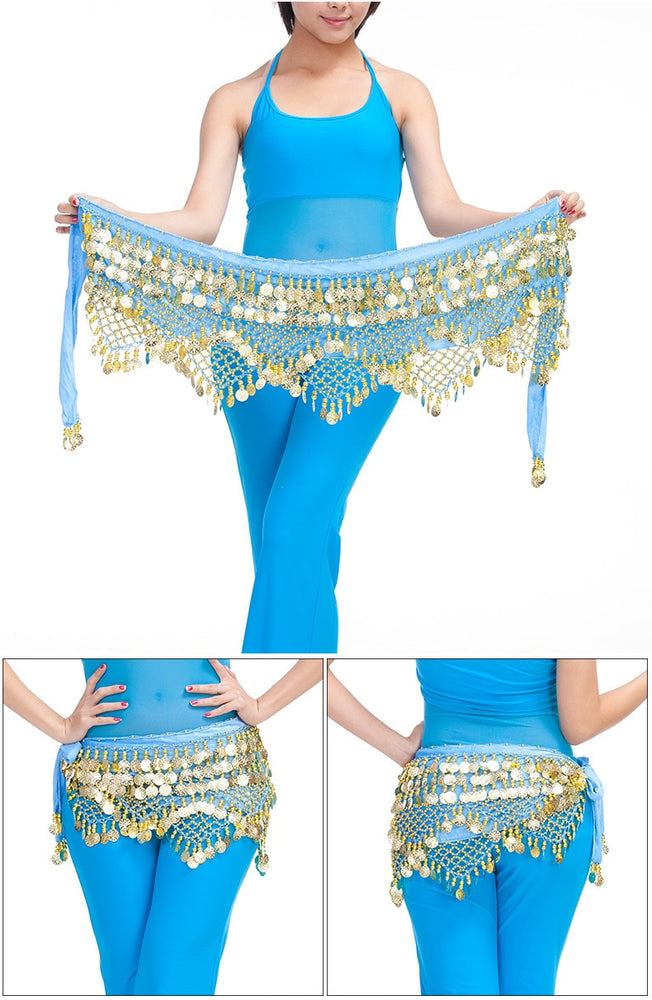 Belly Dance Waist Chain Hip Scarf