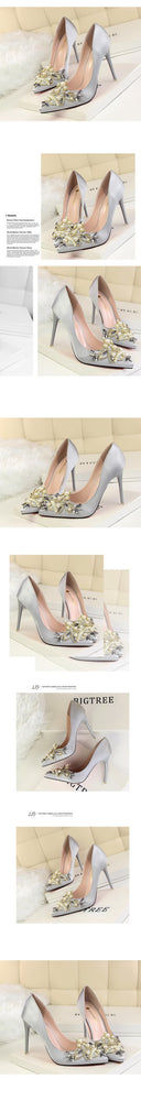 Thin High Heel  Pointed Toe Pumps
