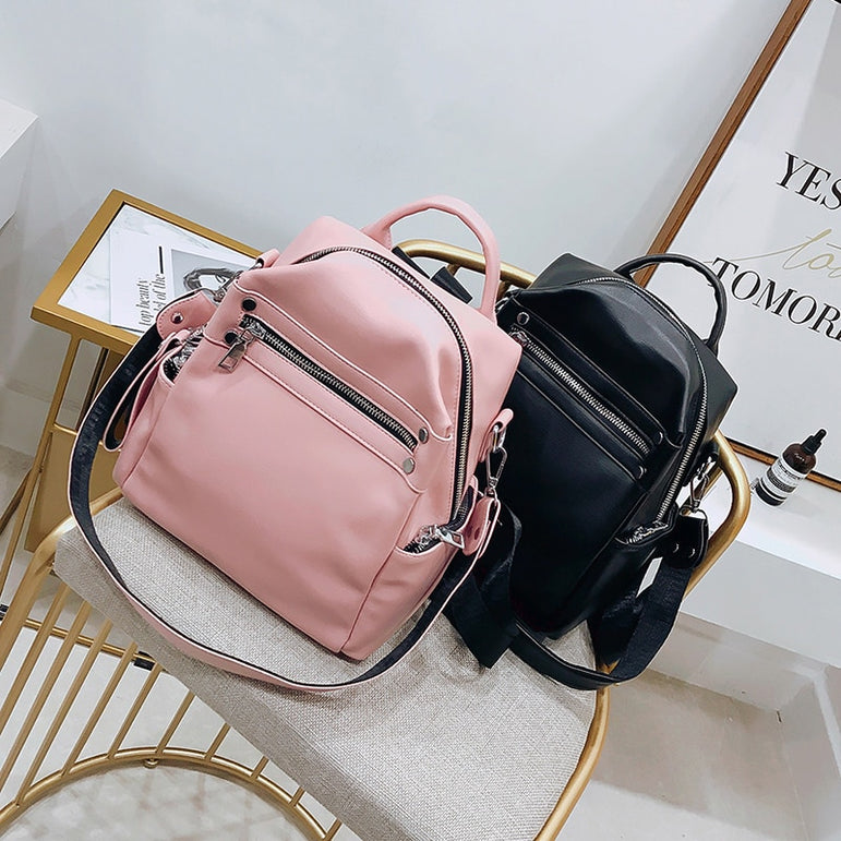 Korean Style Women Backpacks