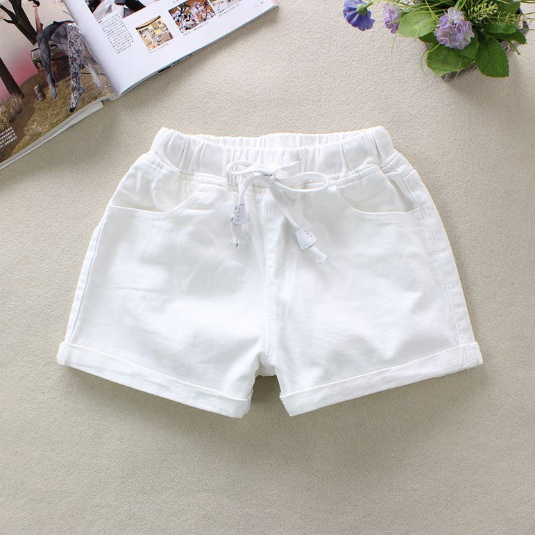 White Women's Denim Shorts