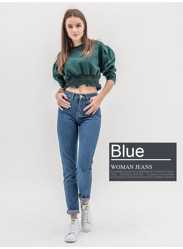 High Waist Push Up Jeans Pants