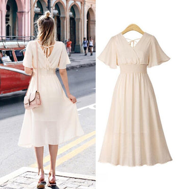 plus size dress white bandage elegant