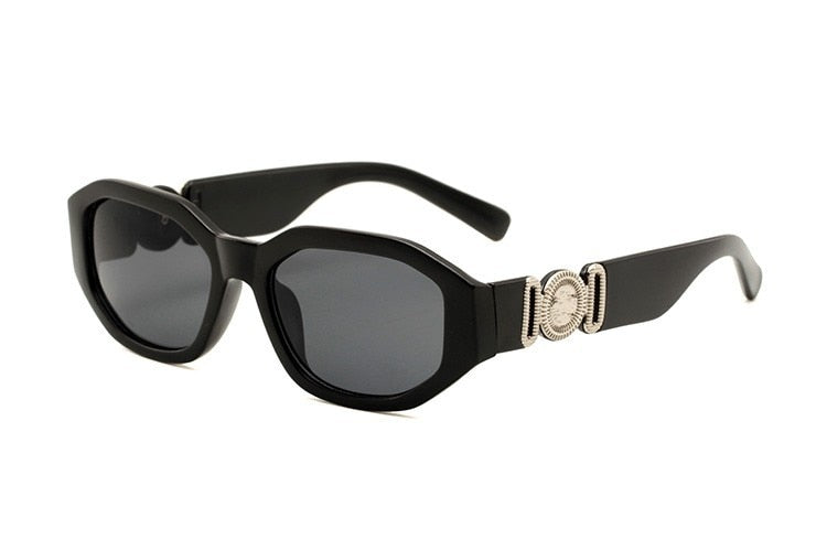 Elegant Square Small Steam Punk Sunglasses