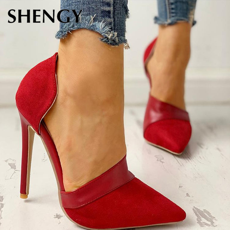 High Heels Women Pumps Pointed Toe
