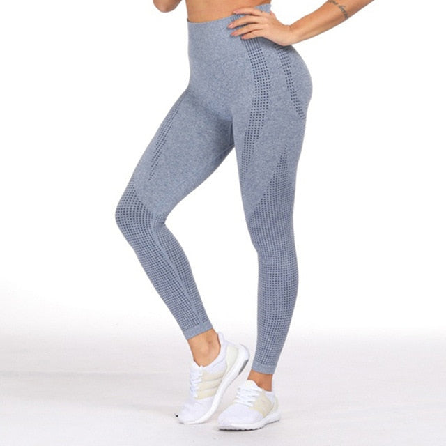 Yoga Pants  High Waist Stretch