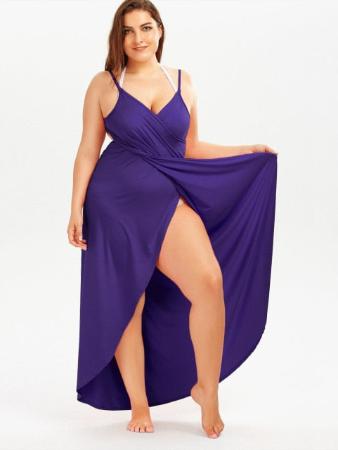 Cover Ups Maxi Slip Dress