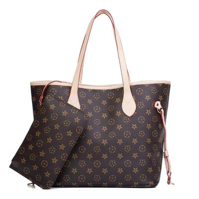 Luxury Canvas Leather Handbag