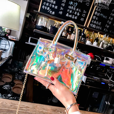 Laser Transparent Bags  Waterproof
