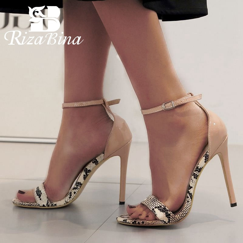 Thin Heel Open Toe Sandals