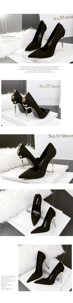 Elegant Stiletto Wedding High Heel