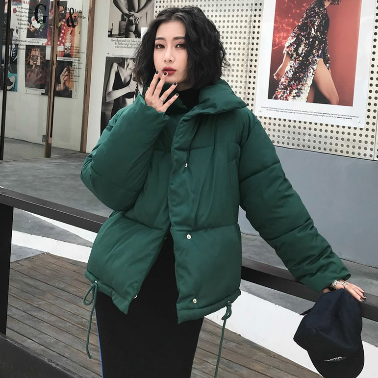 Jacket Women Parka Warm Casual Plus Size