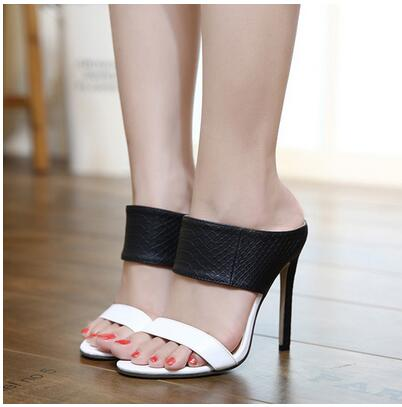 Thin Hollow High Heel Sandals