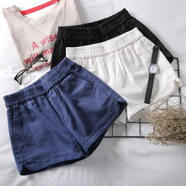 Summer Elastic High Waist Shorts