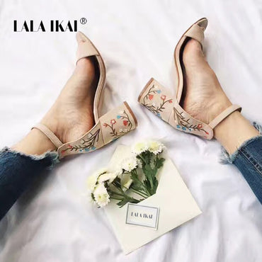 Sandals Embroider Women Sandals