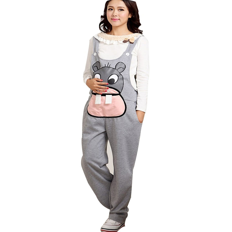 Long Pregnancy Clothes Jumpsuit
