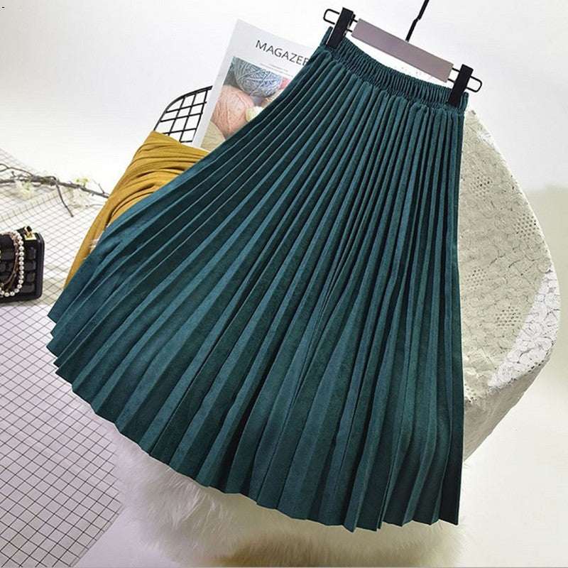women's skirts long skirt high waist