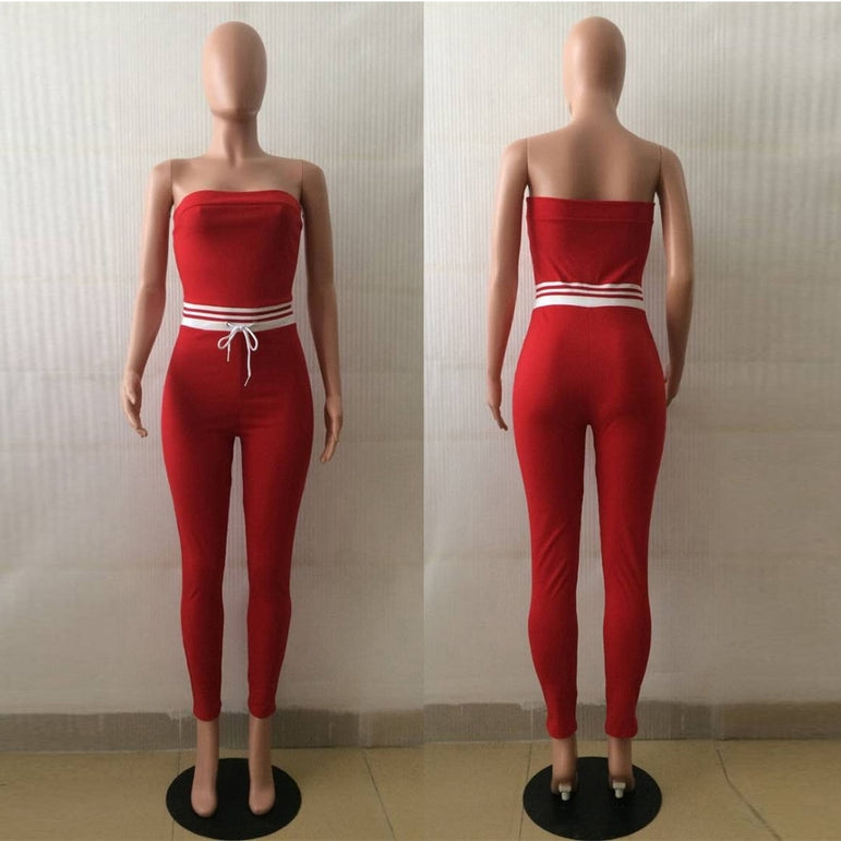 Tracksuit Rompers Women's Jumpsuit
