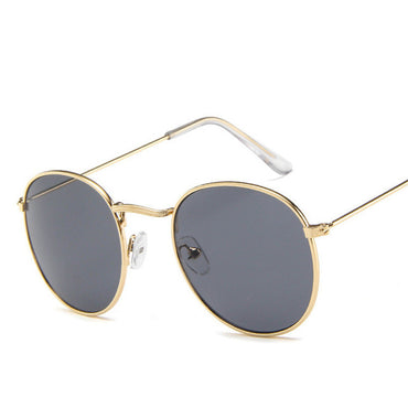Luxury Metal Round Sunglasses