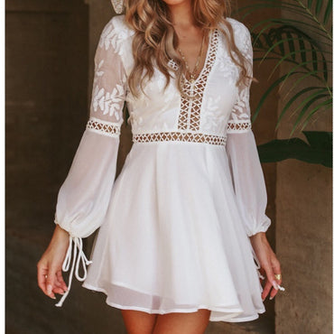 White Mini Dress