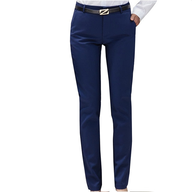 High Waist Ladies Office Trousers