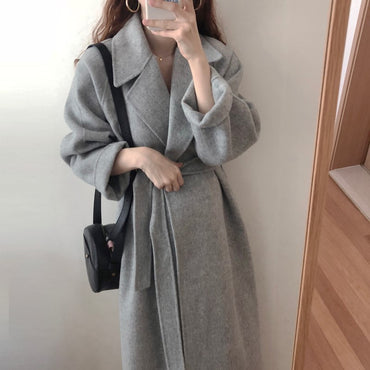 Outwear Coat Loose Plus Size Cardigans Long