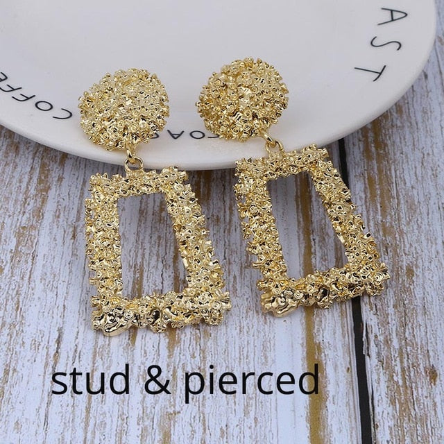 Jewelry Trend Clip Earrings