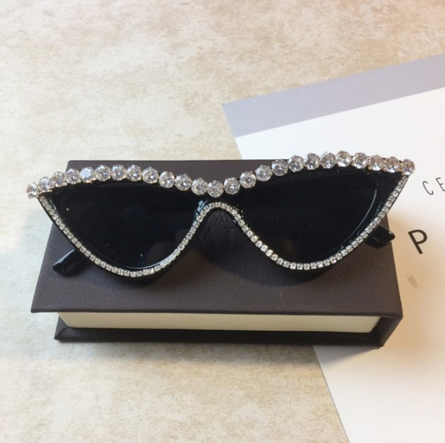 Luxury  Diamond Women Sunglasses