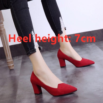 Casual Comfortable High Heel