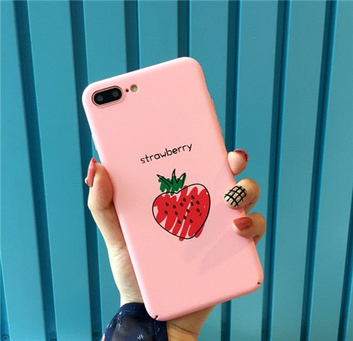 Strawberry case | iPhone 6/7/8/X - Phone-case