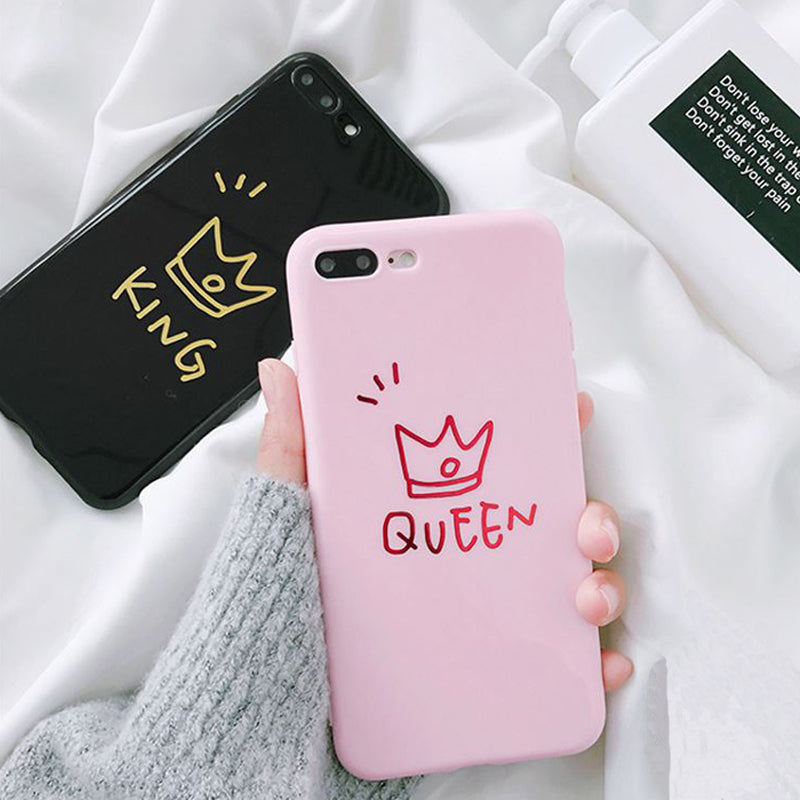 King & Queen case | iPhone 6 tot en met iPhone 11 - Phone-case