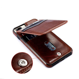Leather case | iPhone 6/7/8/X/Xr/Xs - Phone-case