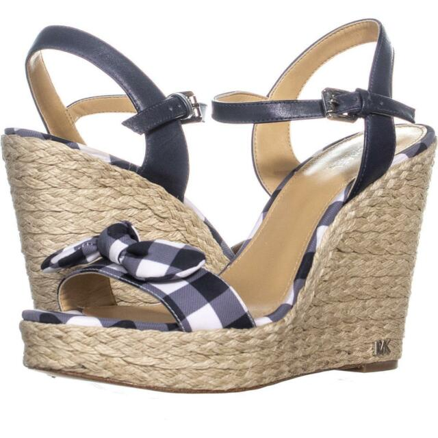 6b5634c20d5 Michael Kors Pippa Wedge Sandals