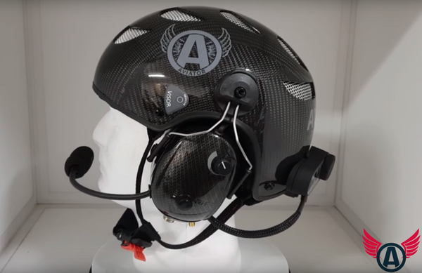 Aviator Helmets Powered by NVolo Deluxe Version