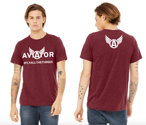 T-Shirt Aviator #FlyAllTheThings