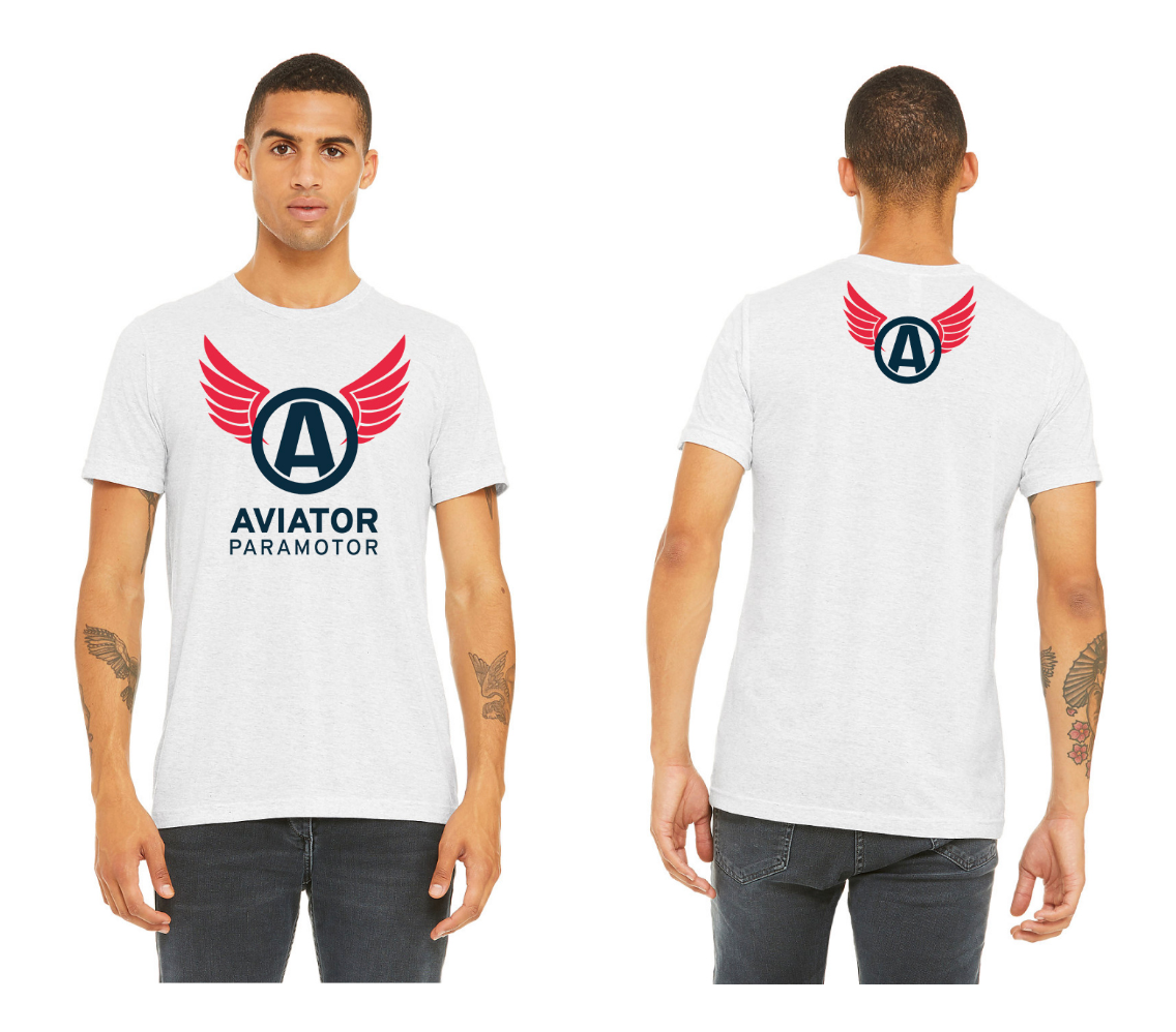 Aviator Logo Dual Color Shirt