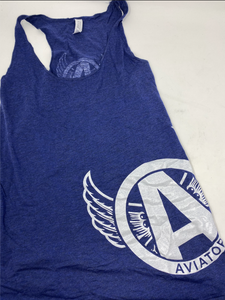 Aviator Blue Tank Cut Off