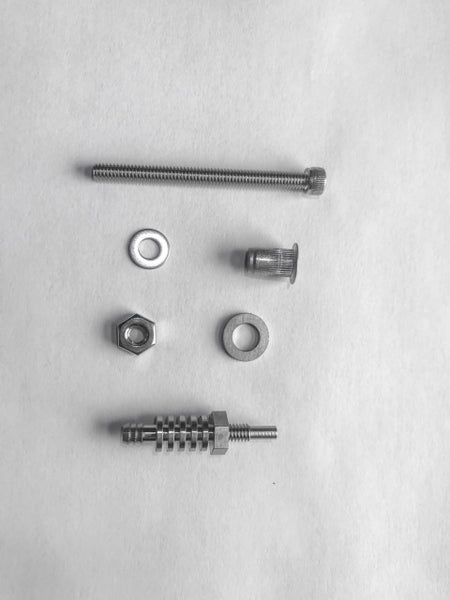 AVIATOR STAINLESS STEEL SMOKE NOZZLE AND NOZZLE INSTALLATION KIT