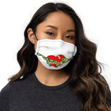 Money is Revenge Premium face mask